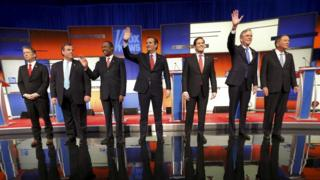 Republican candidates who took part in the debate by Fox News on 28 January 2016