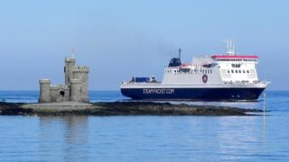 The Tower of Refuge and Ben-My-Chree