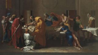 Extreme Unction, Nicolas Poussin