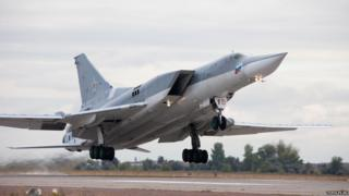 Russian Tu-22M3 bomber (from Tupolev.ru website)