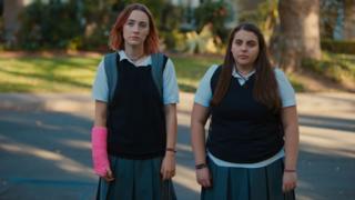 Saoirse Ronan and Beanie Feldstein