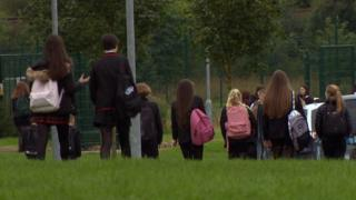Pupils returning to St Ambrose High School
