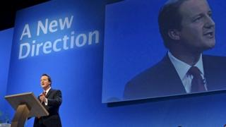 David Cameron at the 2006 Conservative Party conference