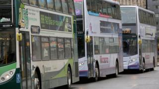 On the buses? Where and how often are we travelling?