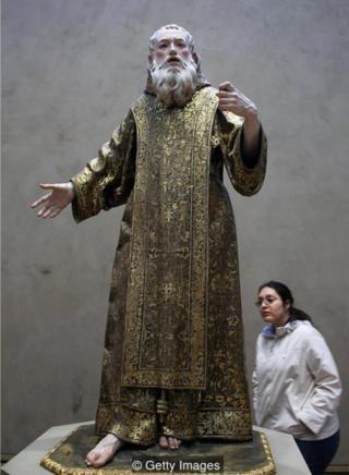 St Ginés de la Jara by Luisa Roldán, c1692