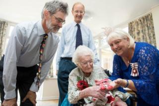 Rosemary Powell receives MBE