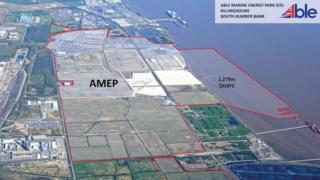 Able Marine Energy Park site