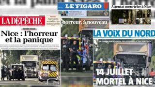 Compilation of French Headlines
