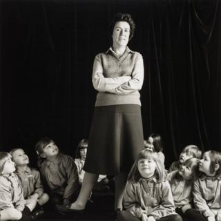 Primary School Teacher from 'Pictures from No Man's Land' 1984