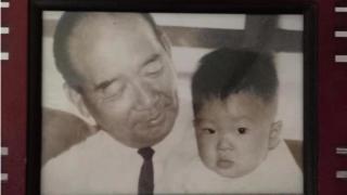 胡敏越與爺爺胡璉
