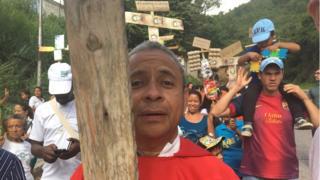 Manifestação por melhores condições de vida na Venezuela