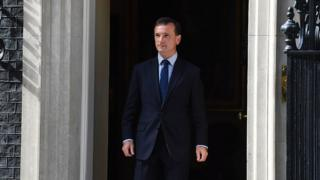 Alun Cairns leaves 10 Downing Street
