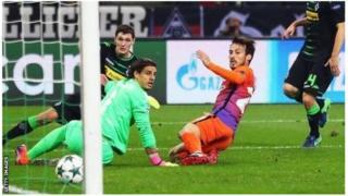David Silva akiifungia City goli
