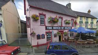 The Bunch of Grapes pub in Newcastle Emlyn