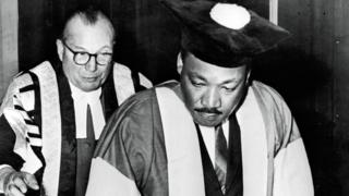 Martin Luther King at Newcastle University