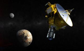 Ilustração da New Horizons