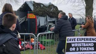 Cave experience at Fortnite Live Norwich