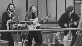 Пол Маккартни, Джордж Харрисон, Джон Леннон - 1969 г.