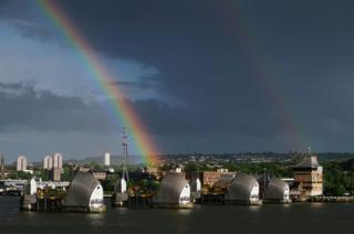 Health supplements fitness Rainbow over London