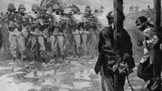 """Расстрел участников """"Боксерского восстания"""" в Китае (1900 год)"""