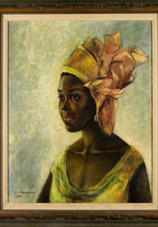 Painting of Christine