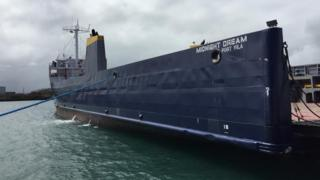 El barco Sueño de Medianoche