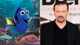 Finding Dory and David Brent