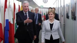 Sturgeon and Barnier