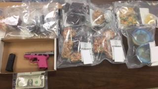 The marijuana/tetrahydrocannabinol (THC) edibles uncovered by the Chatham~Savannah Counter Narcotics team on 18 September 2018.