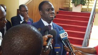 Michel Kafando intumwa idasanzwe y'umunyamabanga mukuru wa Onu mu Burundi