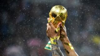 Trofeo de la Copa del Mundo.