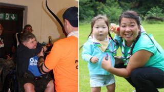 Ty Hafan children enjoy Miskin scouts camping trip