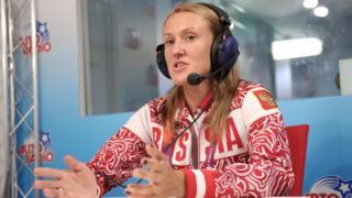 Спортсменка Юлия Зарипова