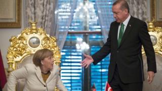 Chancellor Merkel and President Erdogan