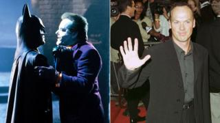 Michael Keaton with Jack Nicholson Batman