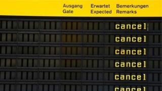 Берлинде иш таштоого байланыштуу 600 чукул аба каттамы үзгүлтүккө учурады