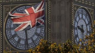 Big Ben and union flag