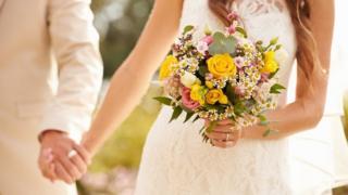 결혼식의 부부