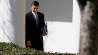 مایکل فلین، مشاور امنیت ملی دونالد ترامپ رئیس جمهور آمریکا