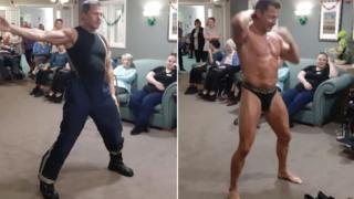 Stripper at care home