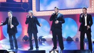 Westlife in 2006: (from left) Shane Filan, Kian Egan, Mark Feehily and Nicky Byrne
