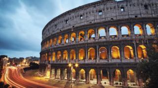 O Coliseu, em Roma