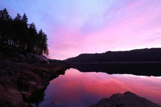 Loch Beinn a' Mheadhoin in Glen Affric.