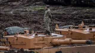 Турецкий танк Leopard-2