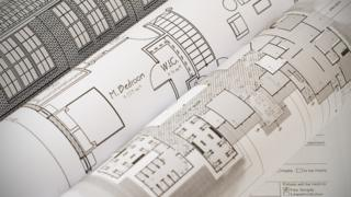 example of blueprints for planning applications