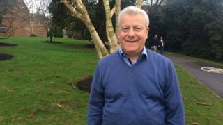 Tandridge council leader Martin Fisher