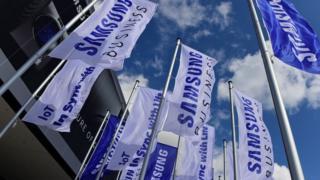 Banderines de Samsung