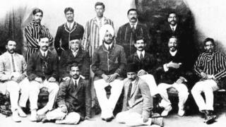 1911 లో మొట్టమొదటి భారత క్రికెట్ జట్టు