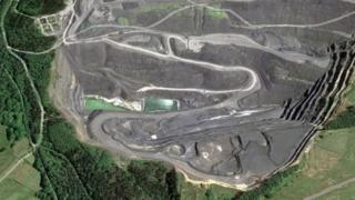 Nant Helen opencast mine, Ystradgynlais