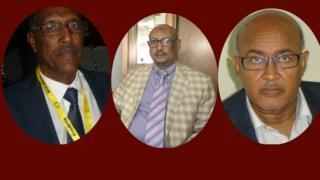 Madaxweynaha Somaliland, Muuse Biixi, iyo gudoomiyeyaasha axsaabta mucaaridka, Feysal Cali (Waraabe) iyo Cabdiraxman Maxamed (Cirro)
